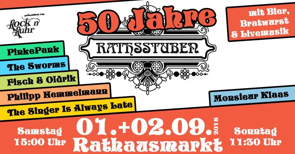 50 Jahre Rathsstuben